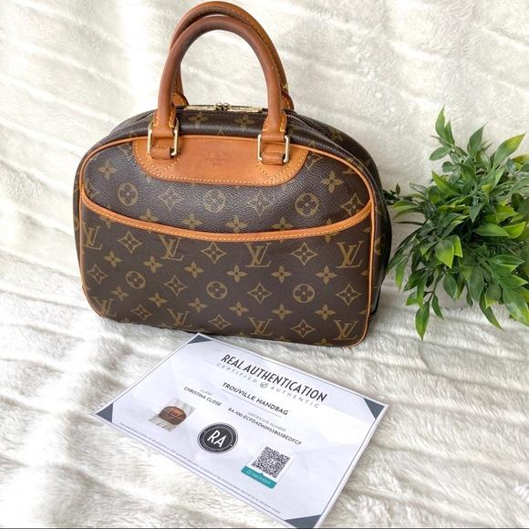 Louis Vuitton Handbags - Louis Vuitton Trouville Handbag Authenticated